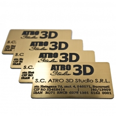 Carti de vizita din material plastic ASB