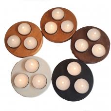 Suport lumanari in forma de disc